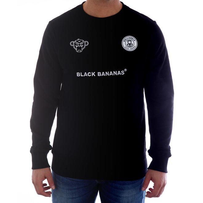 Black Bananas | Sweater F.C. Crewneck Black