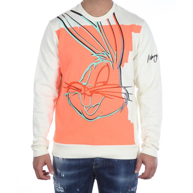 Iceberg | Sweater Looney Tunes Bugs Bunny  | Wit / Oranje