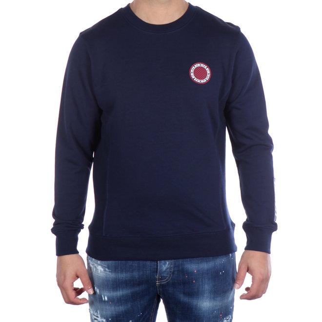Banlieue | Sweater Crewneck Rubber Patch Navy
