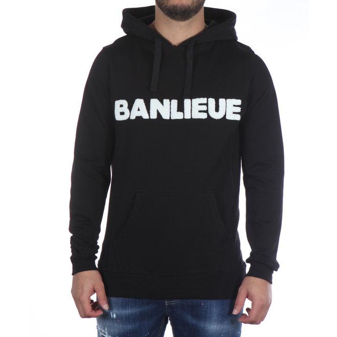 Banlieue | Hooded Felt Black