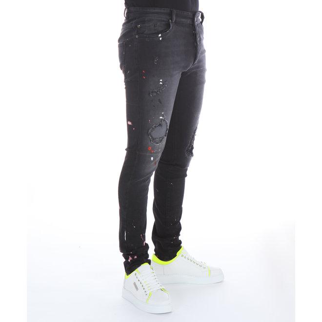 Boragio | Jeans Zwart | 7410 5 Pocket