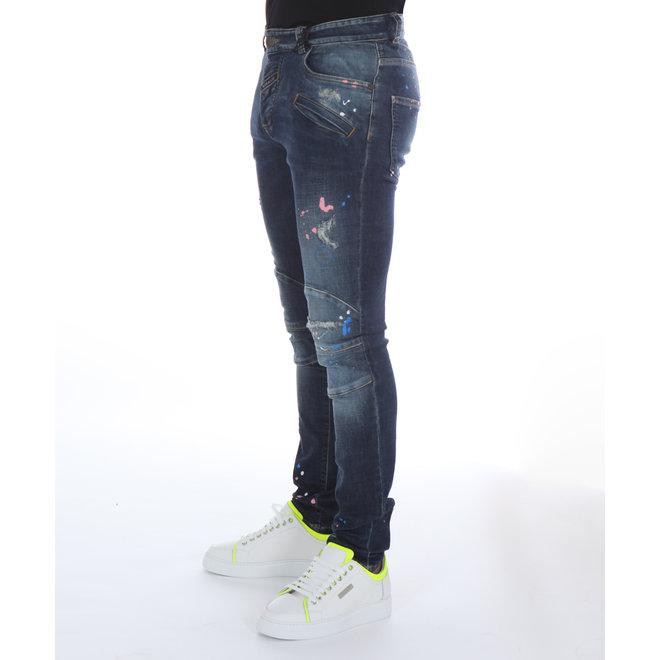 Boragio   Jeans 7503 Pocket   Blauw