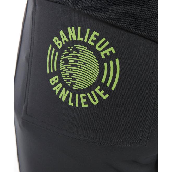 Banlieue | Pocket Tracksuit | Black Grey | Trainingspak Zwart / Grijs