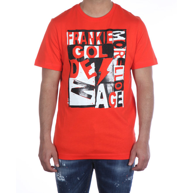 Frankie Morello | T-shirt Rood met Print