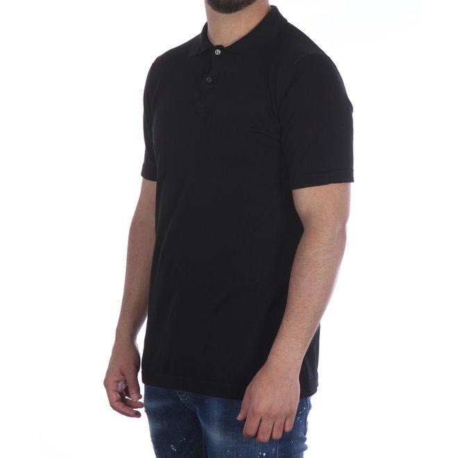 ICEBERG | Polo | Zwart met logo groen | 20EI1P0A00476330002