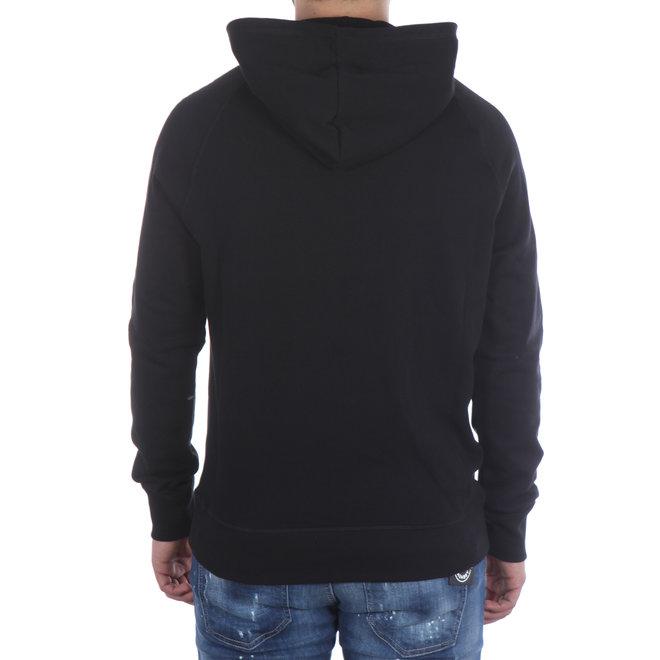 Dsquared2 | Hoodie Zwart met Tape logo | D9MG02370 220