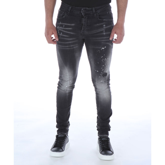 My Brand | Paint Spots Faded Jeans