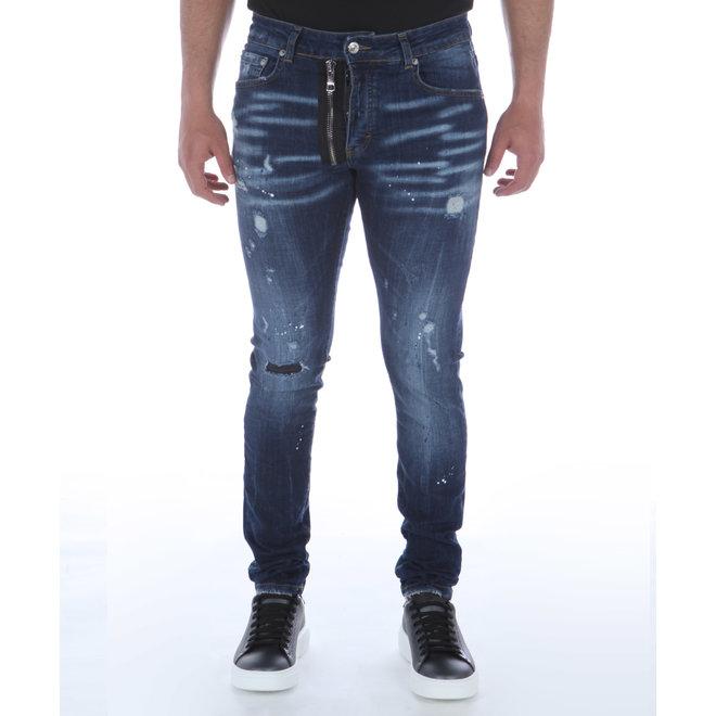 My Brand | Donkerblauwe Jeans