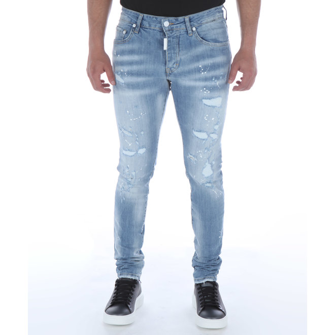 My Brand | Light Blue Distressed Jeans