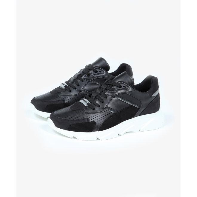 Iceberg | Sneaker zwart met witte zool | 20EIU1300A