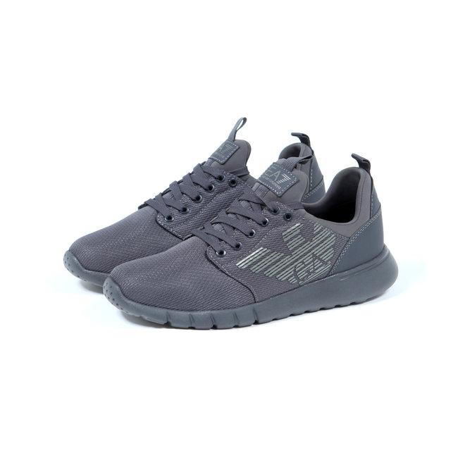 EA7 | Sneakers grijs | Asphalt | X8X007 XCC02 00371