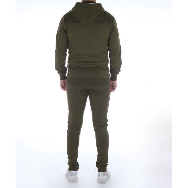 Banlieue | Fullzip Tracksuit New - Khaki