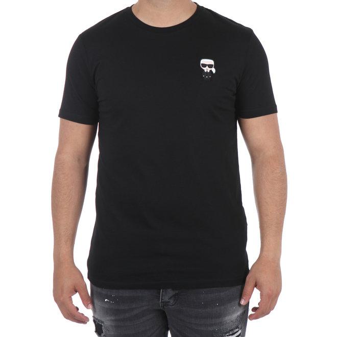 Karl Lagerfeld | T-shirt basic zwart