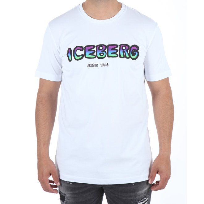 Iceberg | T-shirt wit met logo