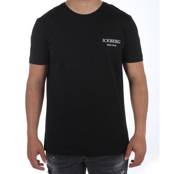 Iceberg | Zwart t-shirt met multicolor Looney Tunes print