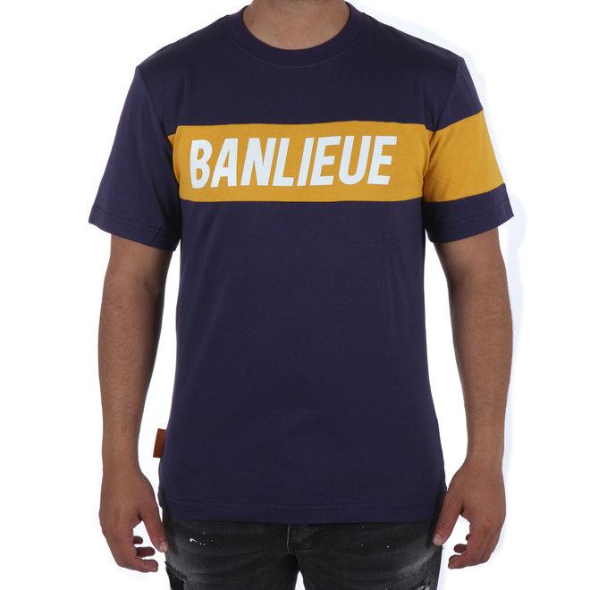 Banlieue | Band t-shirt navy