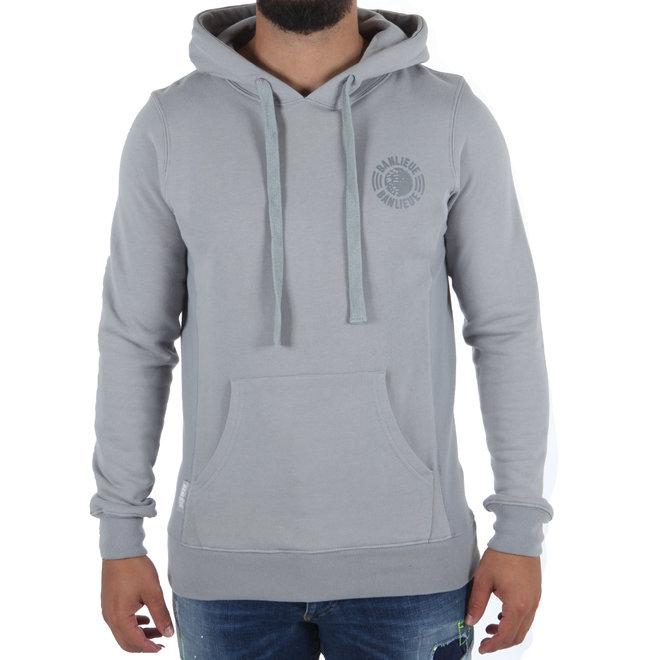 Banlieue   Tonal Hoodie Grey