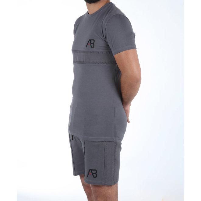AB Lifestyle | T-shirt grijs