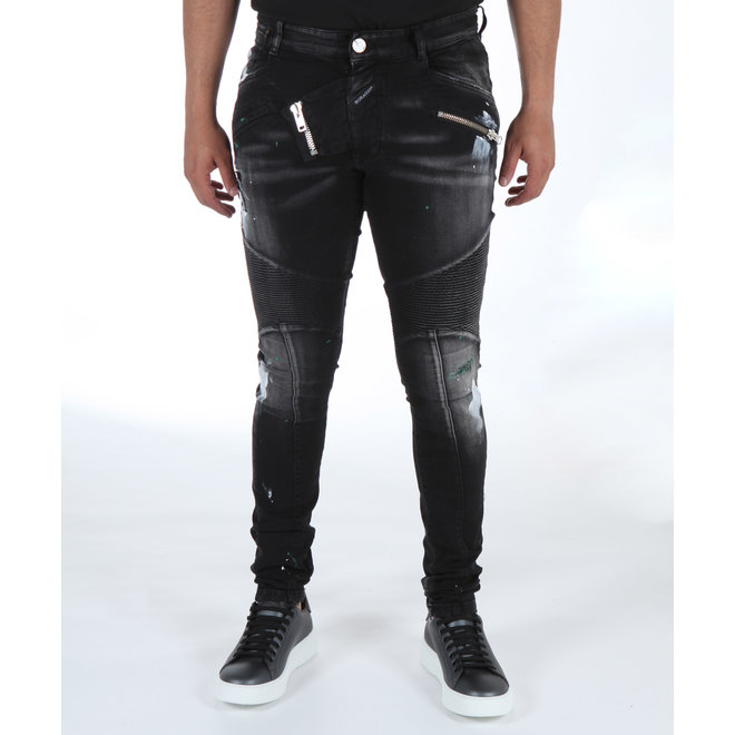 Boragio | Jeans Black 7561
