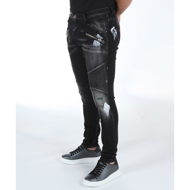 BORAGIO | Zwarte jeans 7561