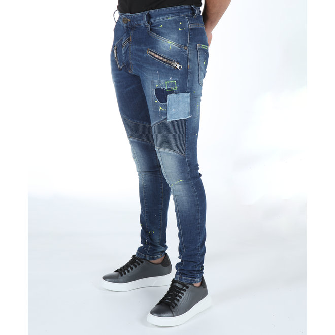 Boragio | Jeans blauw 7590