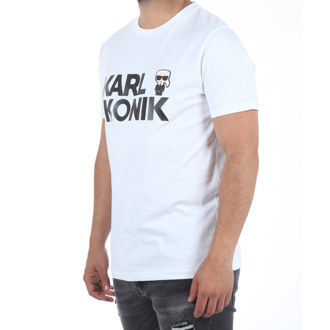 Karl Lagerfeld | T-shirt Karl Ikonik wit
