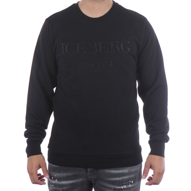 Iceberg | Sweater zwart