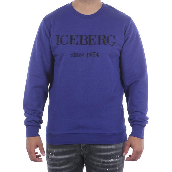 Iceberg | Sweater Blu Elettrico