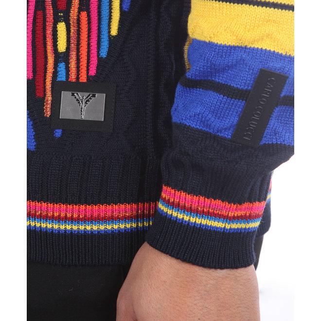 Carlo Colucci | Sweater multicolor | C8804 101