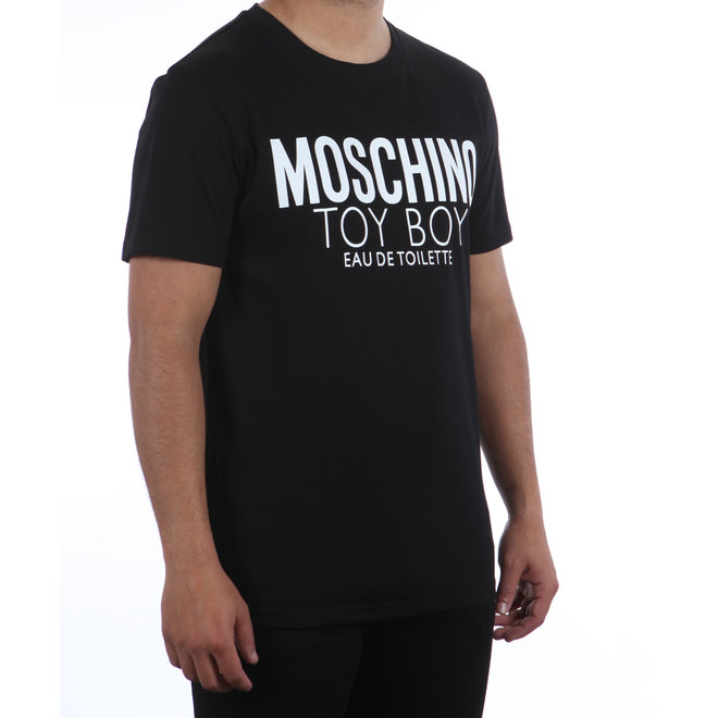 Moschino   T-shirt 'Toyboy Eau de Toilette'  zwart