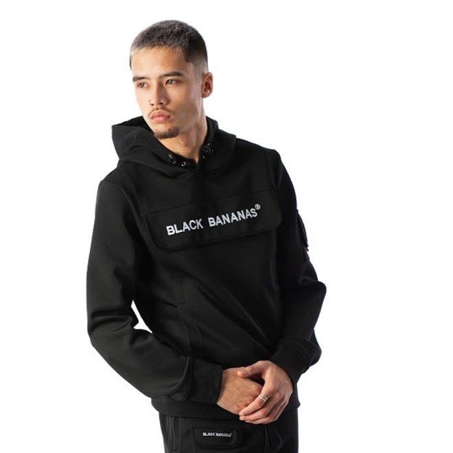 Black Bananas | Hoodie zwart