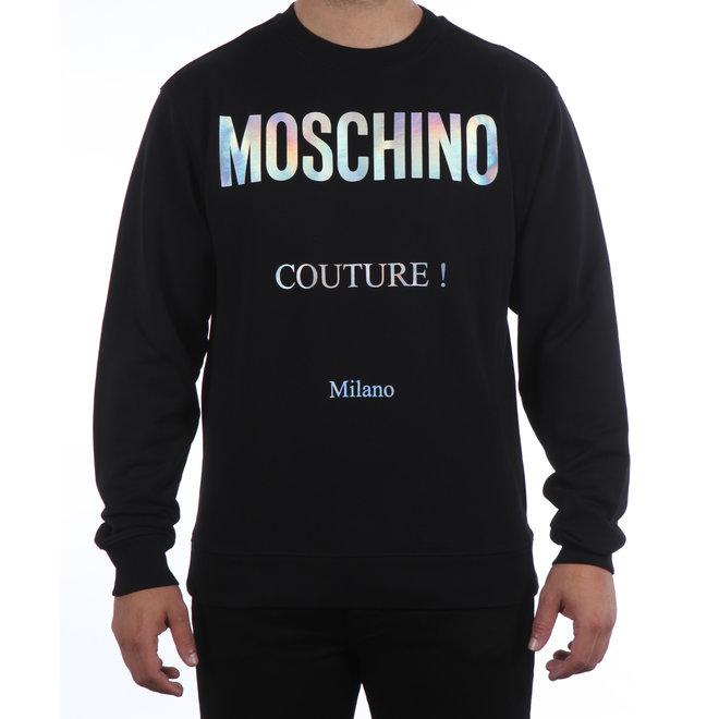 Moschino | Trui met logo Moschino Couture!