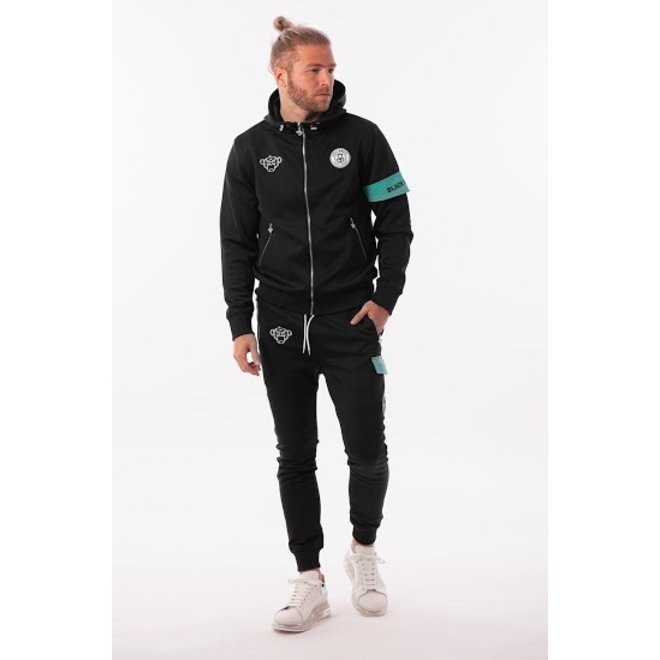 Black Bananas | Captain Tracksuit Black Mint