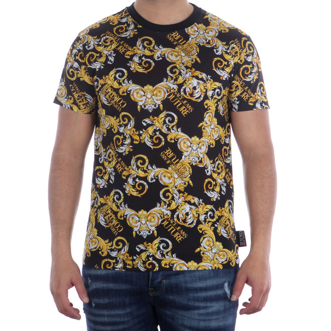Versace Jeans Couture | T-shirt allover Baroque print