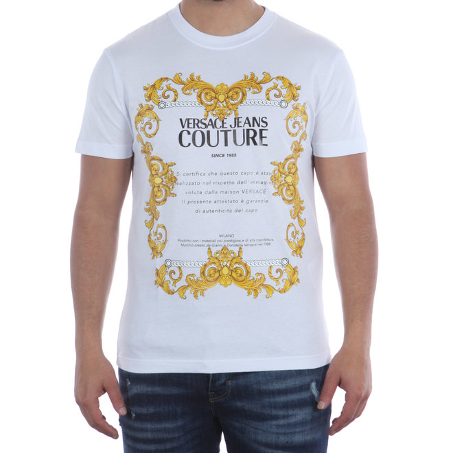 Versace Jeans Couture | T-shirt wit Baroque