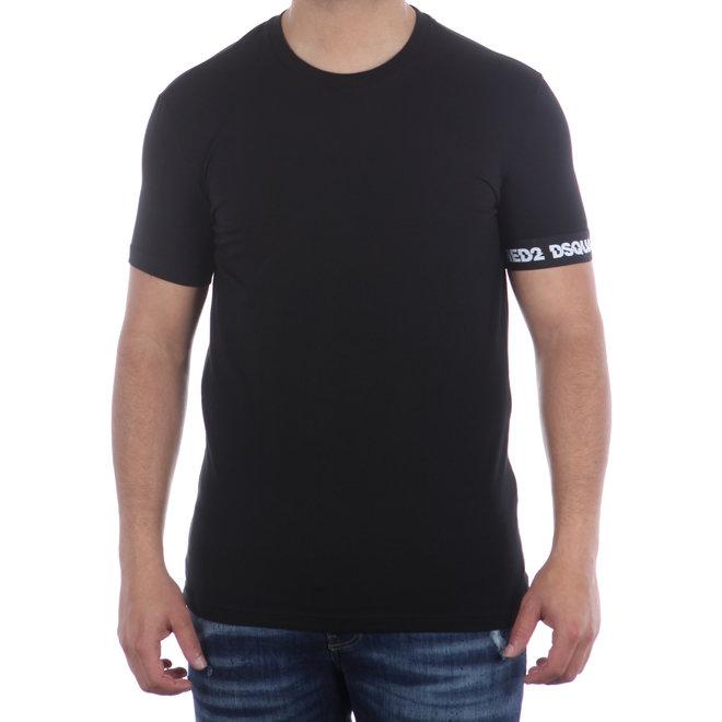 Dsquared2 | T-shirt Round Neck | Zwart