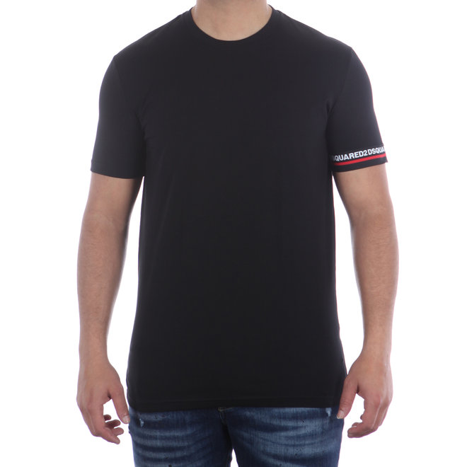 Dsquared2 | T-shirt Round Neck | Zwart