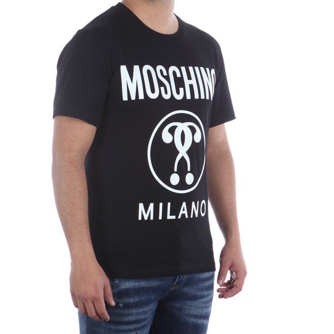 Moschino   Zwart t-shirt met logo