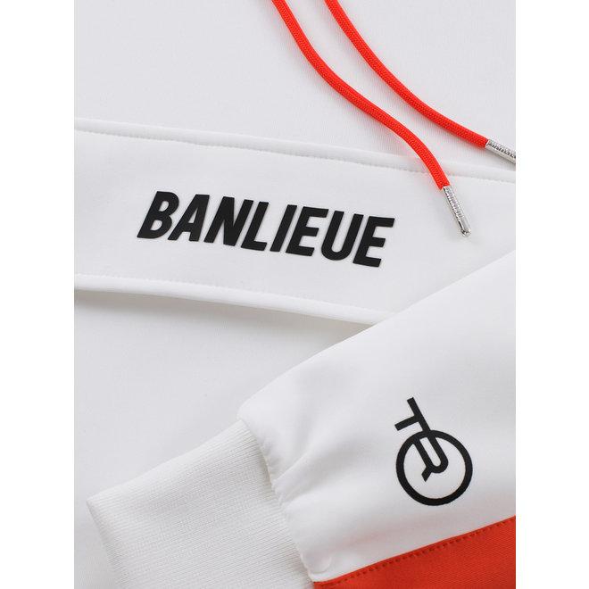 Banlieue   Trainingspak wit / oranje