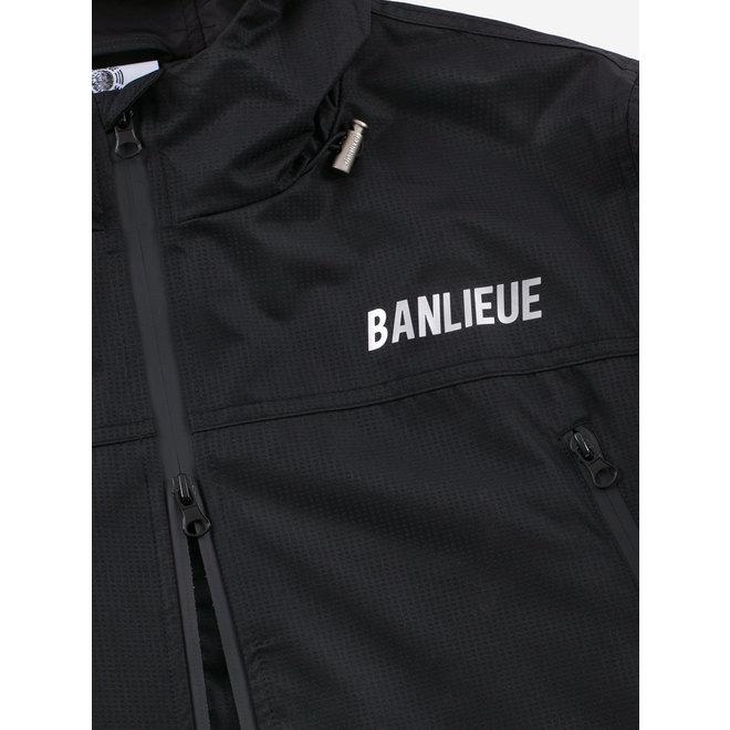 Banlieue | Zwart windjack