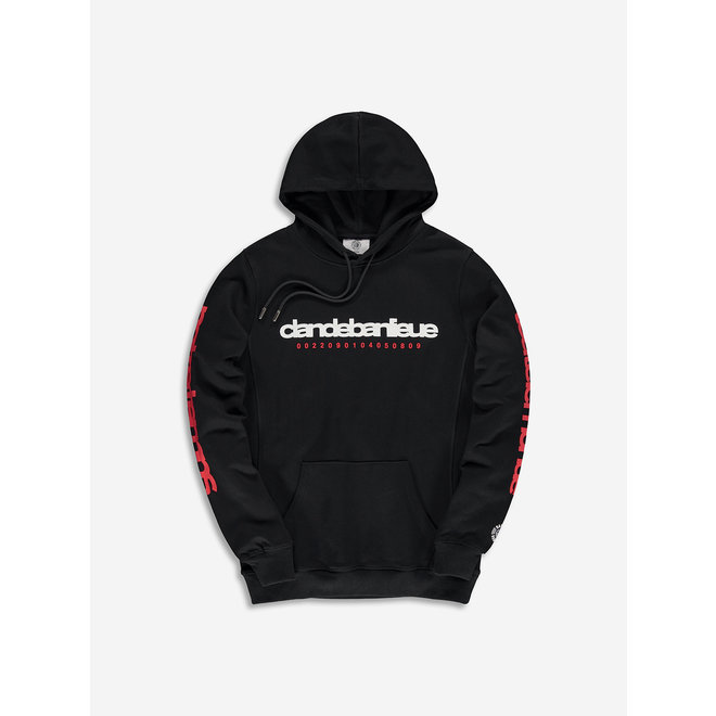 Banlieue | Hooded Sweater Notre Temps Black
