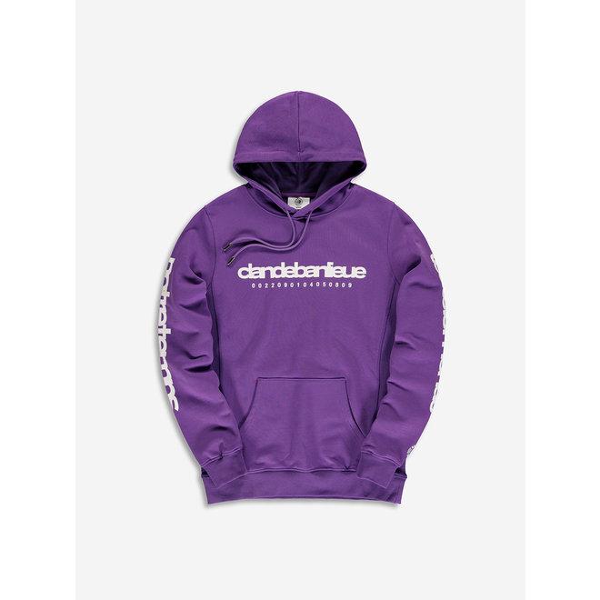 Banlieue | Hooded Sweater Notre Temps Purple