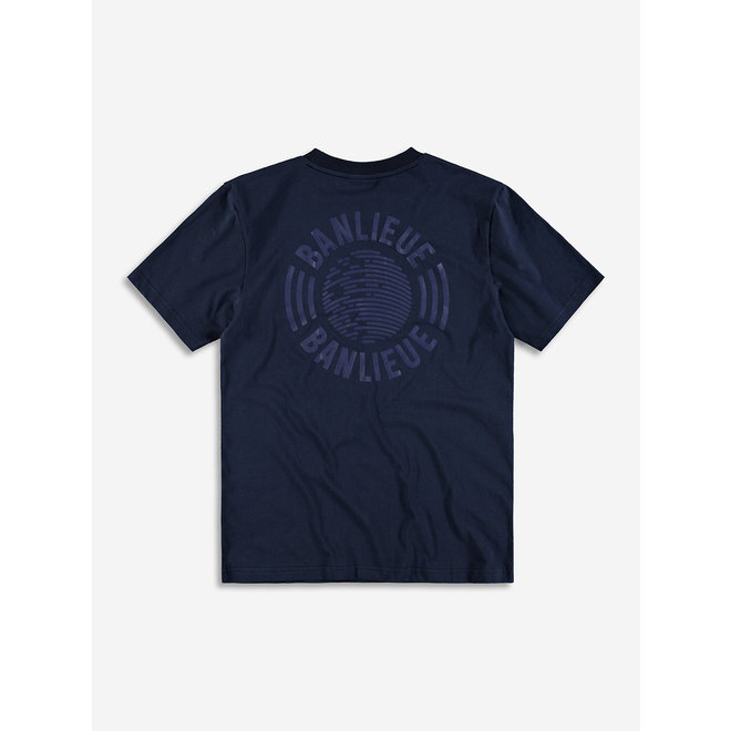 Banlieue | T-shirt Tonal Set | Donkerblauw