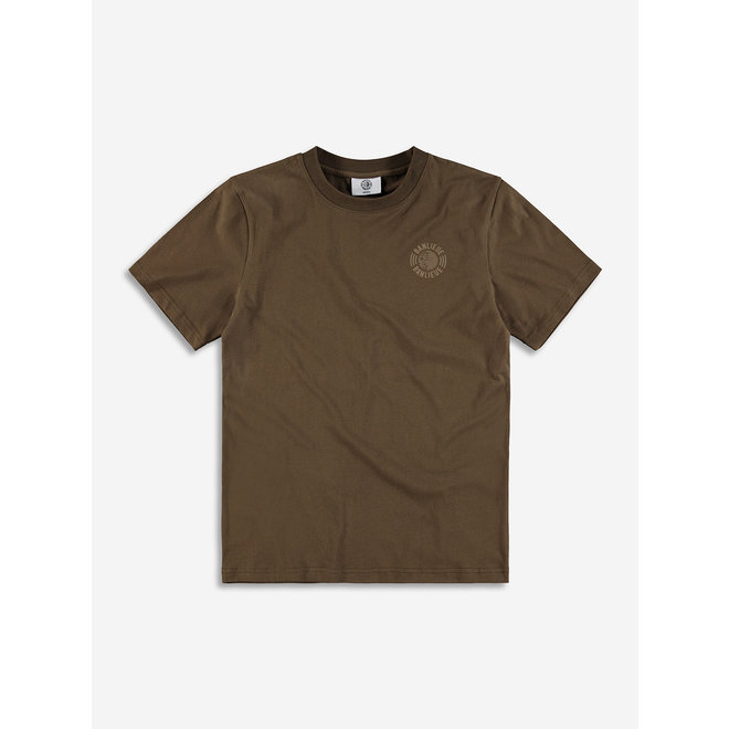 Banlieue | Tonal Set T-shirt | Bruin