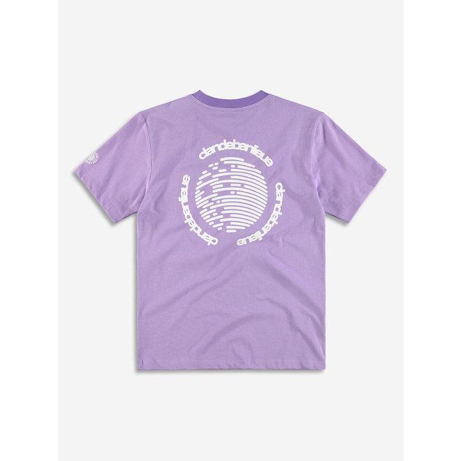 Banlieue | Paars T-shirt met logo