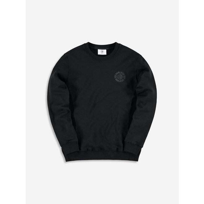 Banlieue   Sweater Crewneck Tonal Set   Zwart