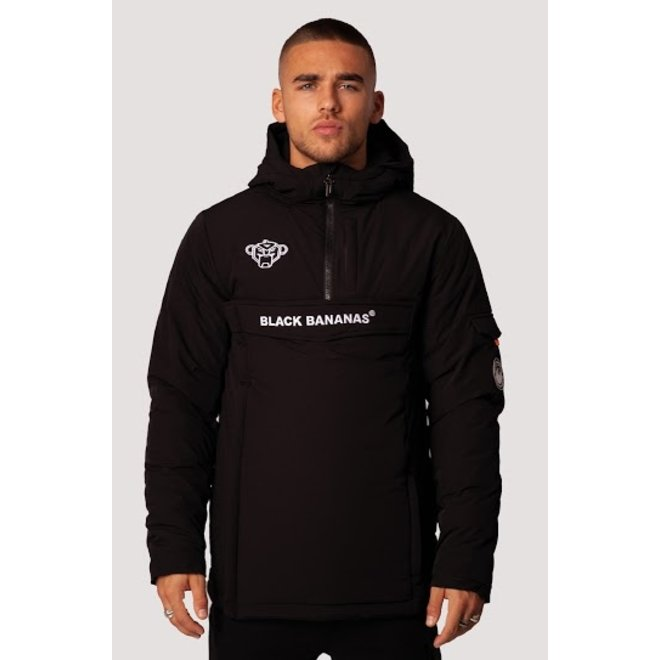 Black Bananas | Anorak Technical Jacket Black