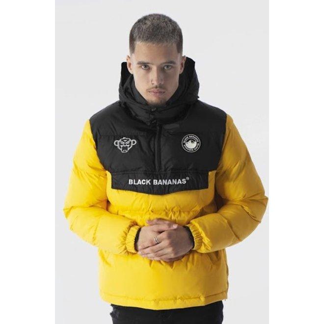 Black Bananas | Anorak Block Jacket Yellow