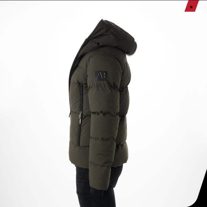 AB Lifestyle | Winterjas met capuchon | Groen