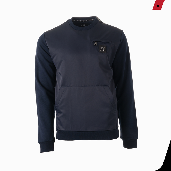 AB Lifestyle | Exclusive Sweater | Donkerblauw